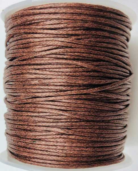 Cotone Cerato 45 mt MARRONE 1 mm
