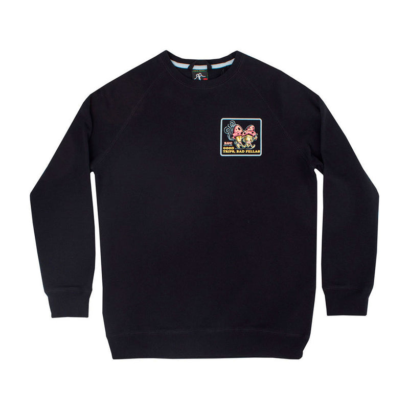 Crewneck Fellas Black