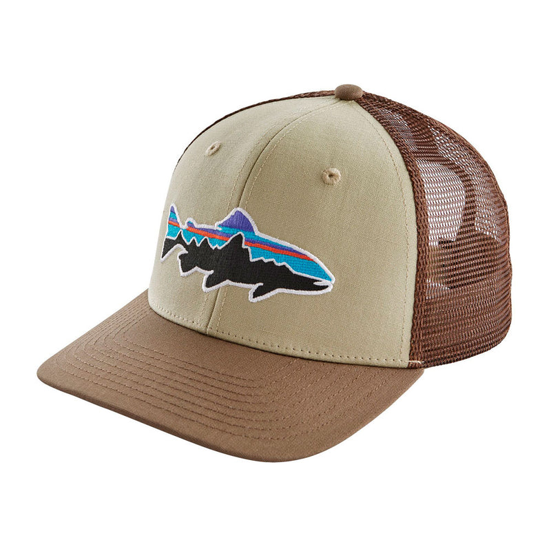Jockey Fitz Roy Trout Trucker Hat Weathered Stone