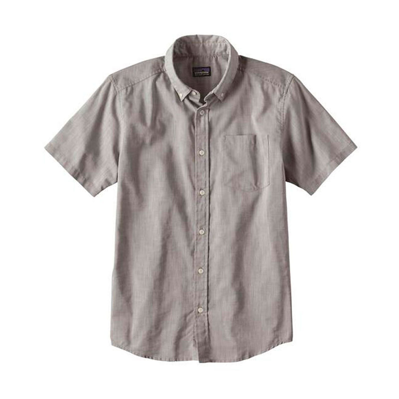 Camisa Hombre Manga Corta LW Bluffside Shirt Chambray: Feather Grey