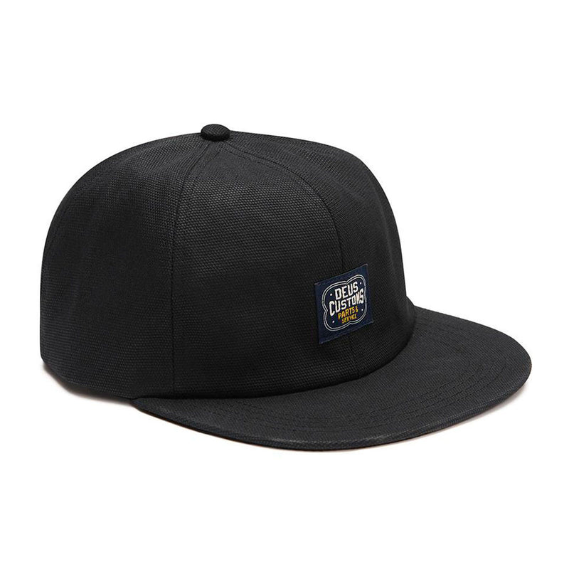 Jockey Manx Canvas Cap Black