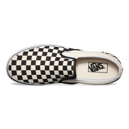 Zapatillas Classic Slip-On Black & White Checkboard