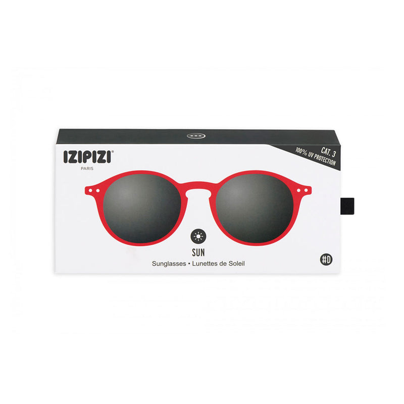 Anteojos De Sol #D Red Crystal - Izipizi - Preppy Beach
