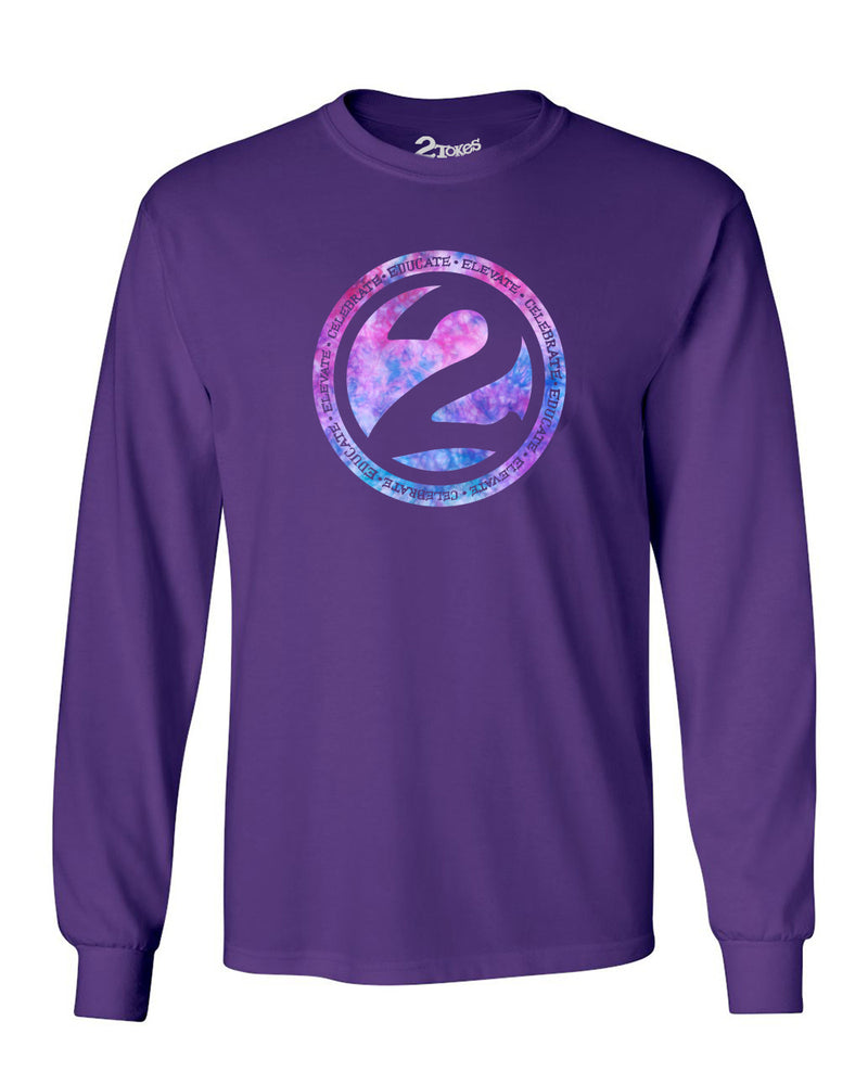 2 Ball L/S T-Shirt (Purple)