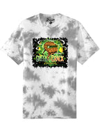 Green Crack T-Shirt (Grey Acid Wash)