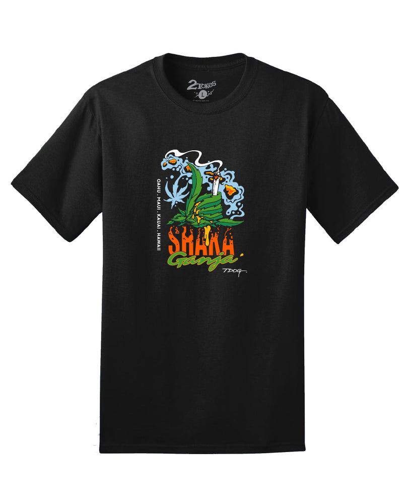 Shaka Ganga T-Shirt (Black)