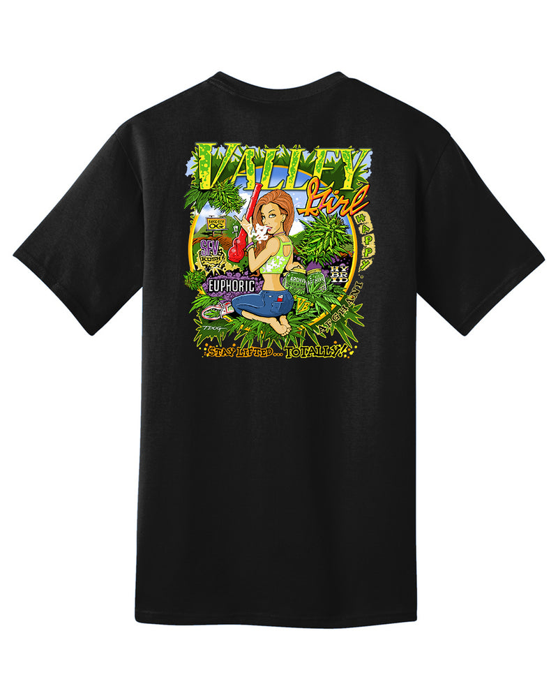 Valley Girl T-Shirt (Black)