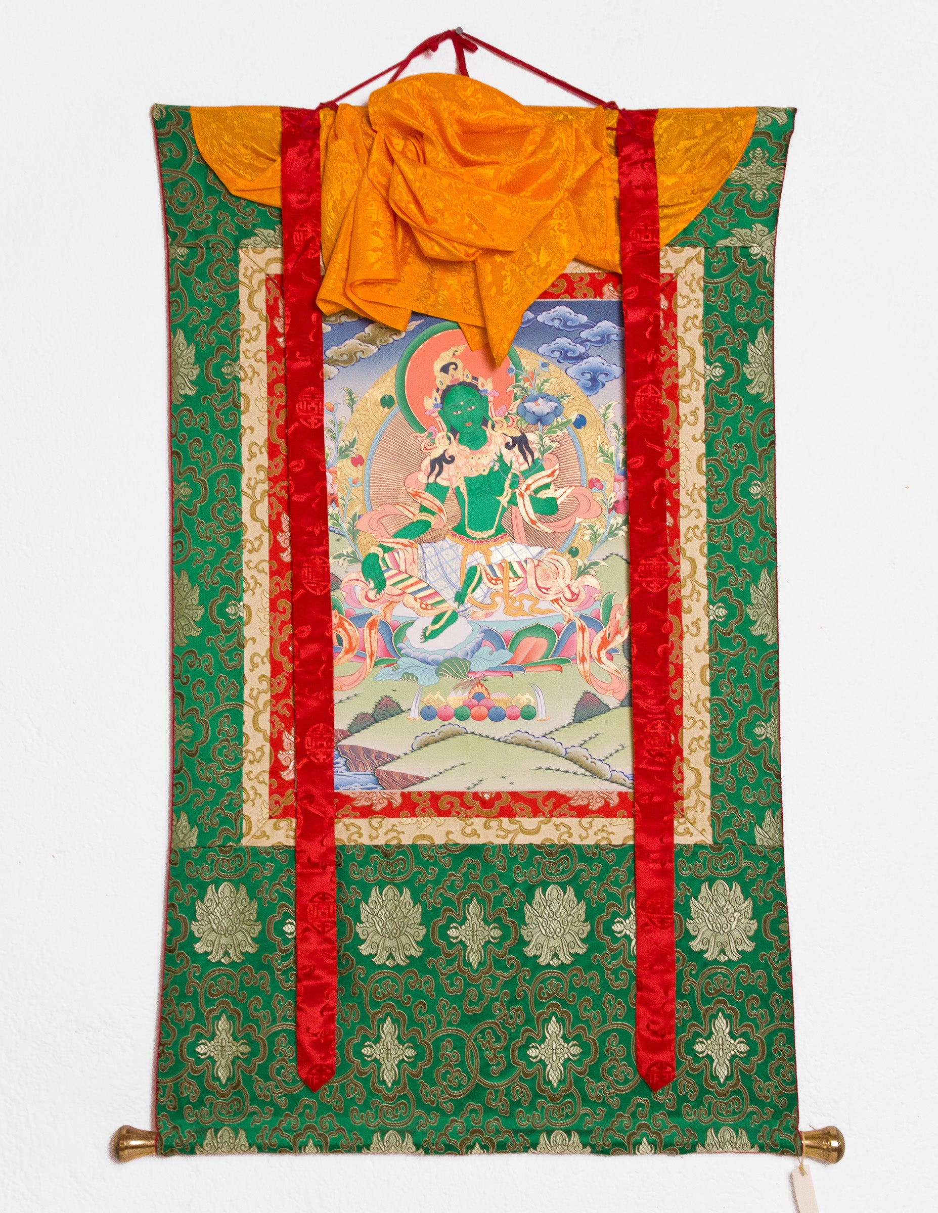 Green Tara Thangka I
