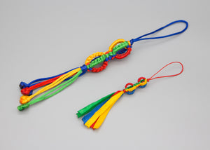 Colourful Dorje Knot