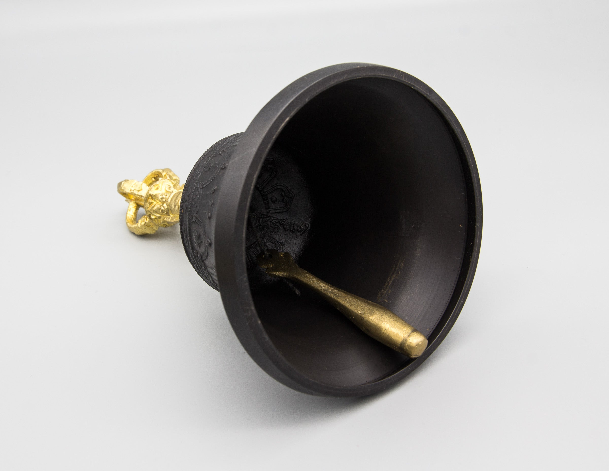 Darkened Bell & Dorje with Gold Contrast II – Standard