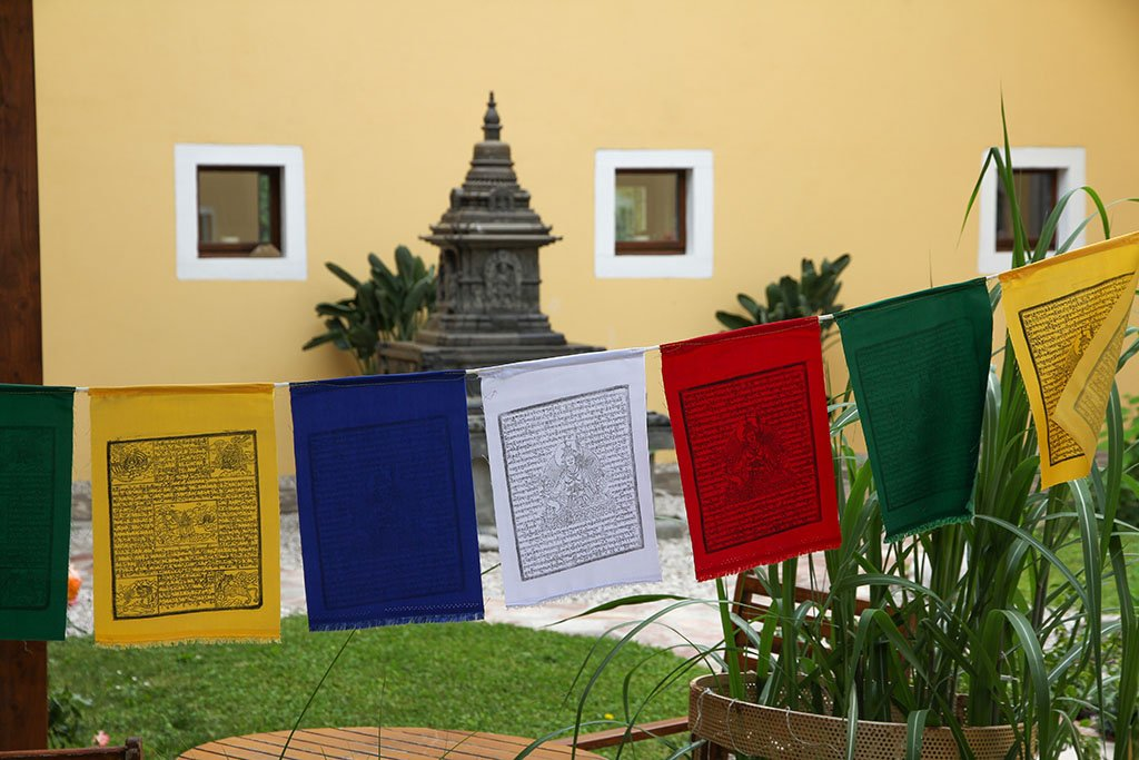 Mixed Prayer Flags, 20x28cm