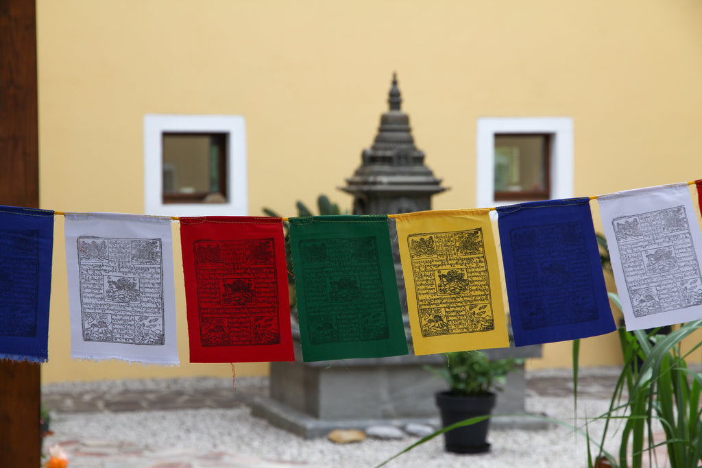 Windhorse Prayer Flags, 15x20cm