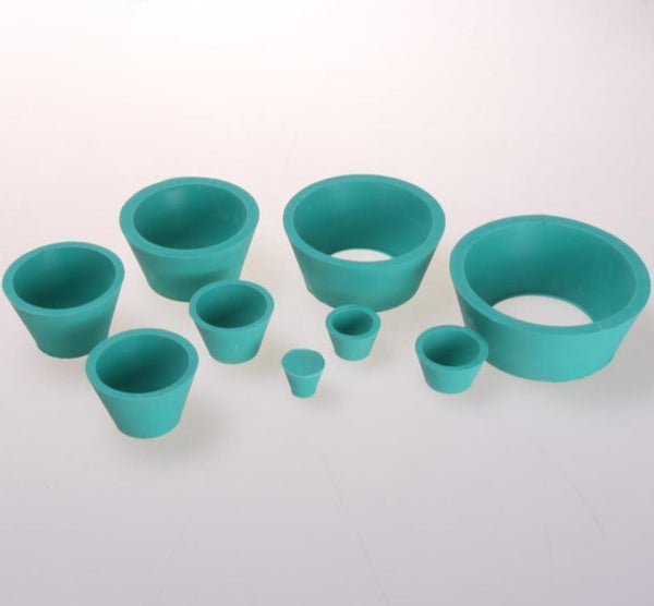 Conical rubber sleeves for vacuum filtration, 9 in 1.