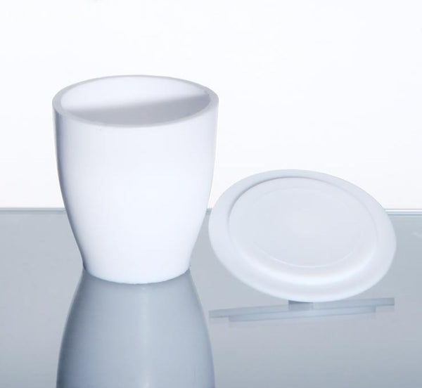 Crucible with cover, PTFE, 20 ml to 250 ml - Laborxing