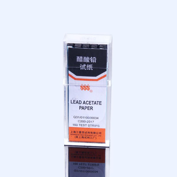 Lead acetate paper, 100 papers pro Pack