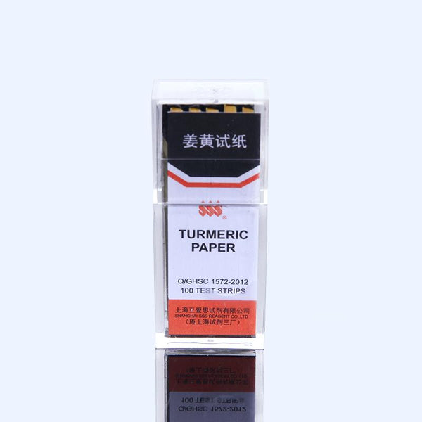 Turmeric paper, 100 papers pro Pack