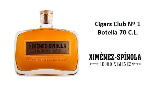 Cigars Club nº1 Botella 70 C.L.