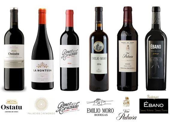 Riojas vs Riberas (12 Botellas)