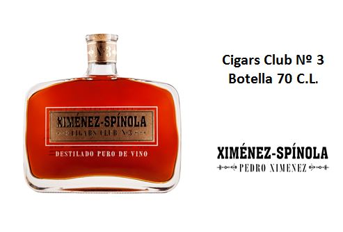 Cigars Club Nº 3 Botella 70 C.L.