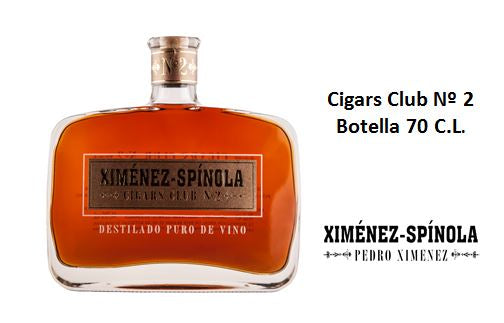 Cigars Club nº2 Botella 70 C.L.