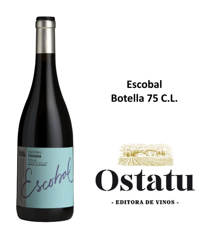 Escobal de Ostatu Botella 75 C.L.