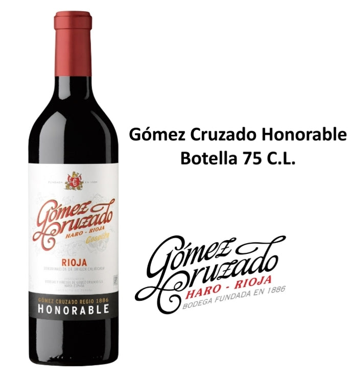Gómez Cruzado Honorable Botella 75 C.L.