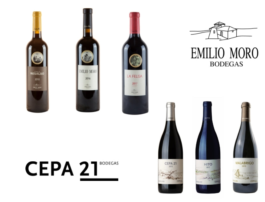 Emilio Moro vs Cepa 21 (6 Botellas)