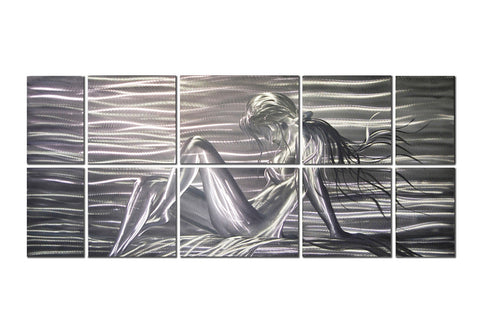 Reclined Beauty Figurative Wall Art