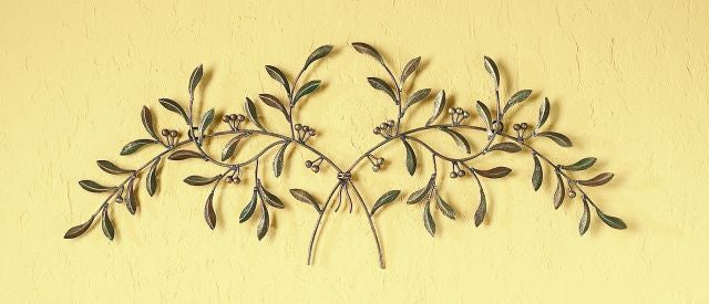 Verdant Branches Metal Door Topper