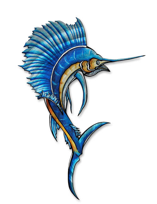 Breathtaking Blue Marlin Fish Art