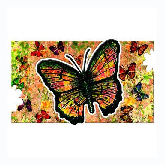Three Dimensional Butterfly Wall Art