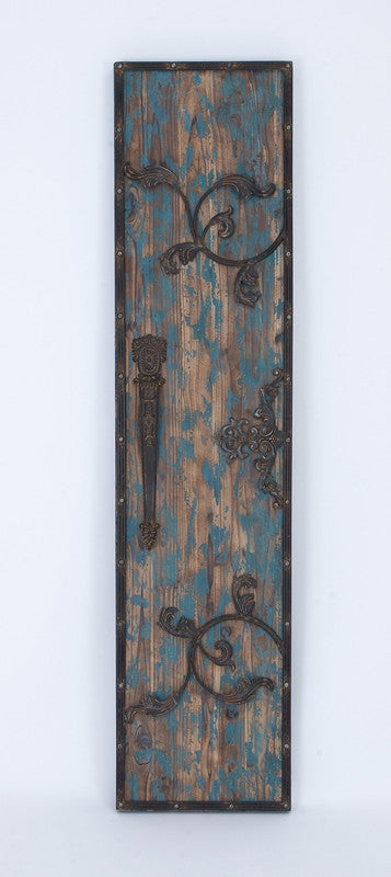 Antiquated Entry Wood Wall Plaque