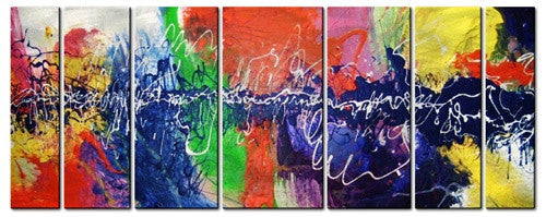 Choreographic Color Multi Panel Art