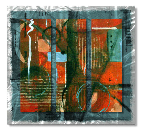 Uber Personification Abstract Metal Wall Hanging