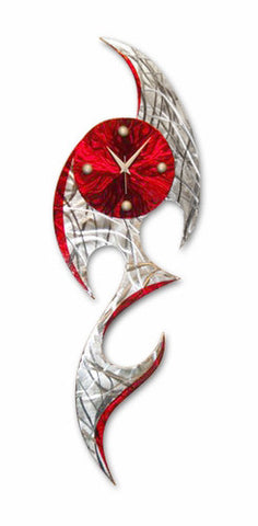 Artemis Contemporary Metal Wall Clock
