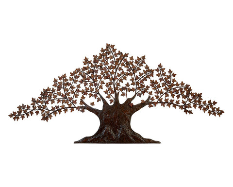 Ancient Tree of Wisdom Metal Wall Art