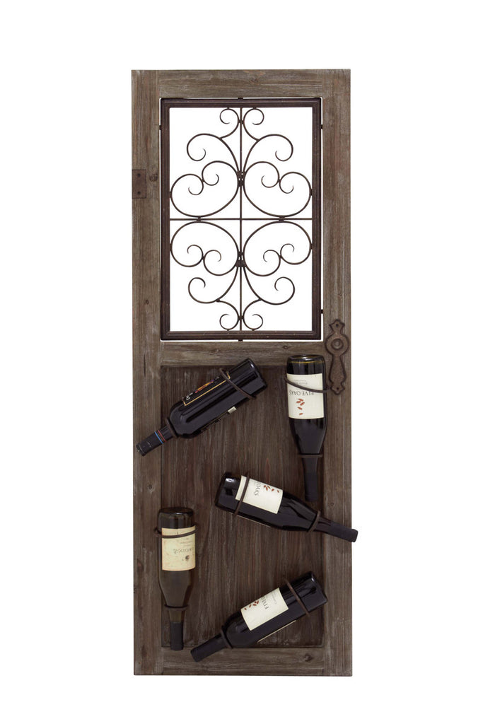Antiquities Portal Wall Wine Rack