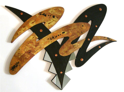 Abstract Crunchy Feel Handcrafted Wall Sculpture