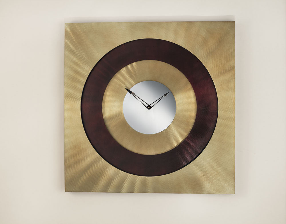 Burst of Light Modern Wall Clock