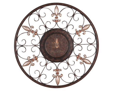 Scroll Design Iron Wall Art