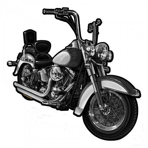 Biker's Dream Metal Wall Sculpture