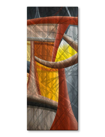 Amber Helix Vertical Wall Panel