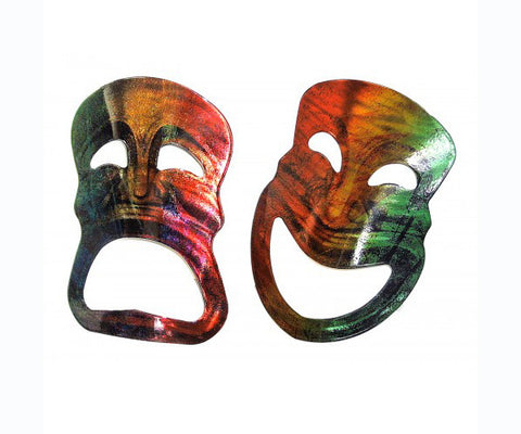 Comedy & Tragedy Theater Masks Art