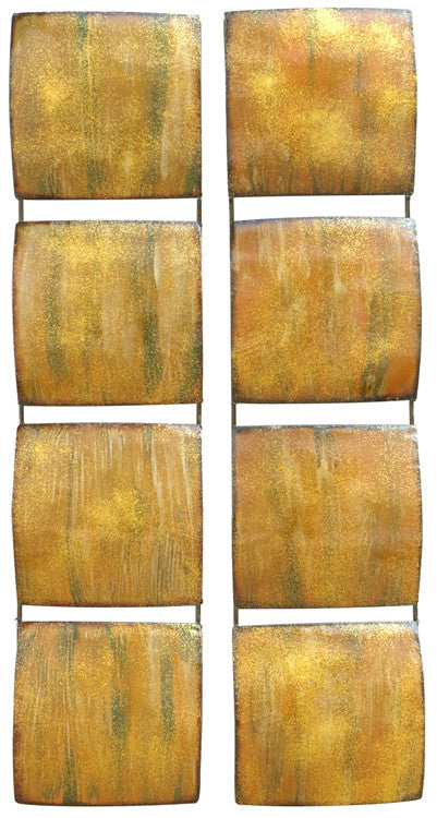Golden Divinity Metal Wall Art Set of 2