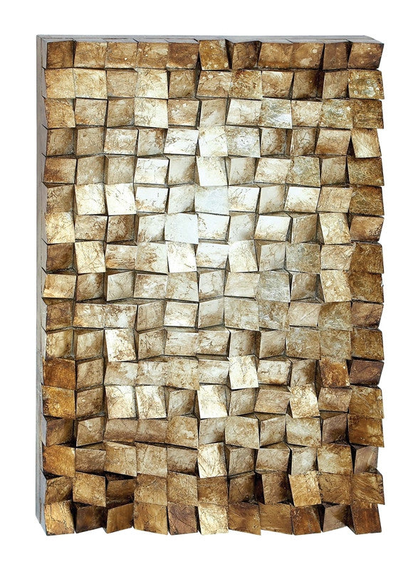 Cubist Composition Wood Wall Art