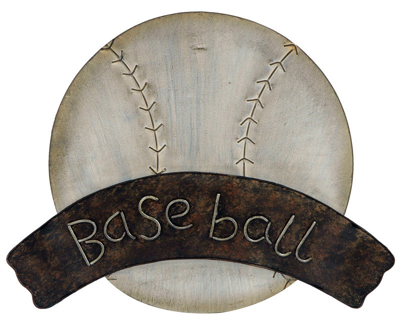 Baseball Blessings Metal Wall Art