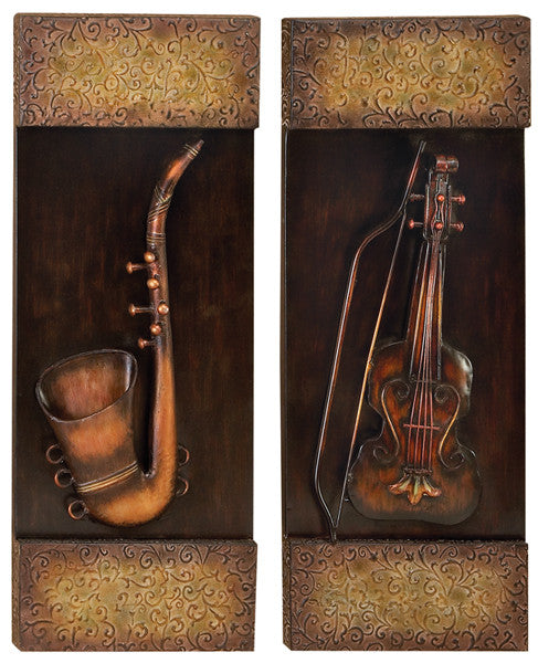 Classic Symphony Musical Wall Hangings Set of 2