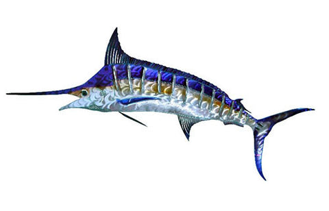 Marlin Stunner Metal Wall Hanging