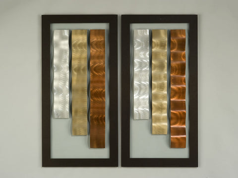 Copper Canyons Modern Metal Art