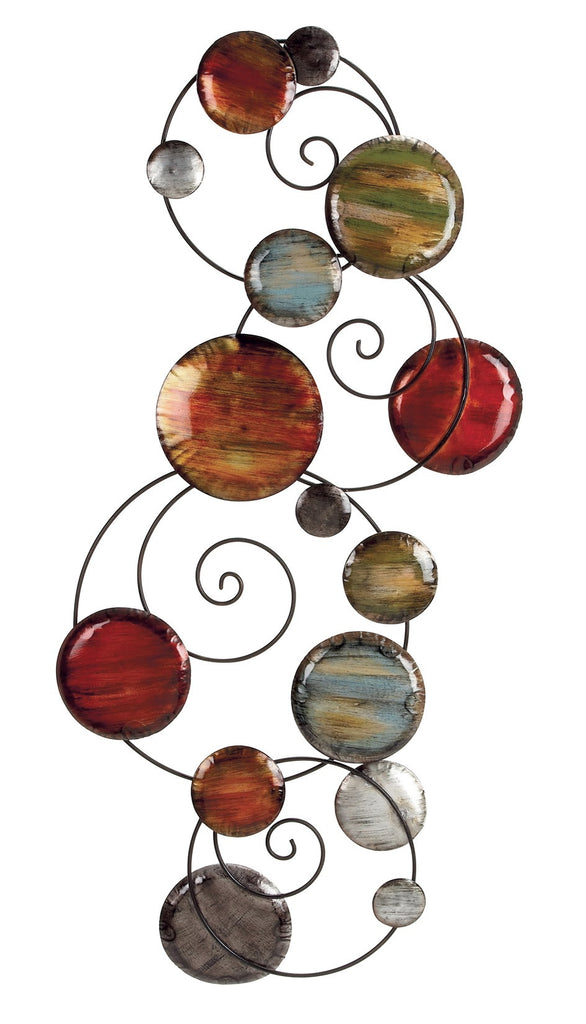 Artistic Orbits Metal Wall Art
